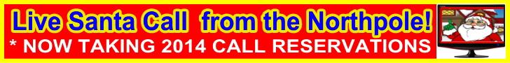 order a live santa call 2014
