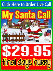 Live Santa Calls with Free Recording